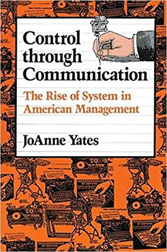 Cover of JoAnne Yates' Control through Communication