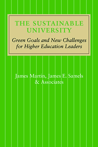Sustainable University book cover