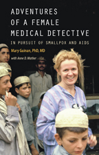 female medical detective cover
