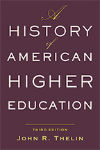 A History Of American Higher Education Johns Hopkins University Press Books