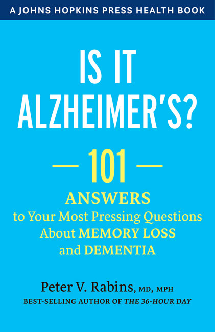 'Is It Alzheimer's?' cover image